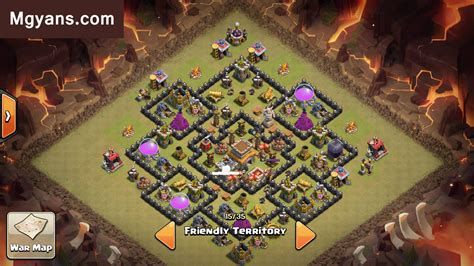 layout editor war base town hall 8 war base of the month may 2015 with air