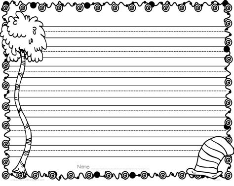 new year writing paper template kindergarten math worksheets for dr seuss worksheet exle