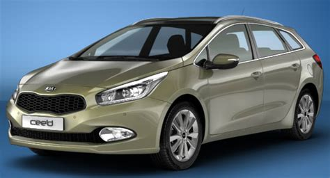 Kingdom Kia Kia Cee D Sw Ii 2013 Couleurs Colors