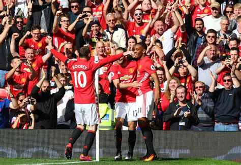 official manchester utd 2016 the best and the worst manchester united players rated from their draw against stoke city the