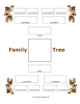family tree information template 8 best family tree images on family tree chart