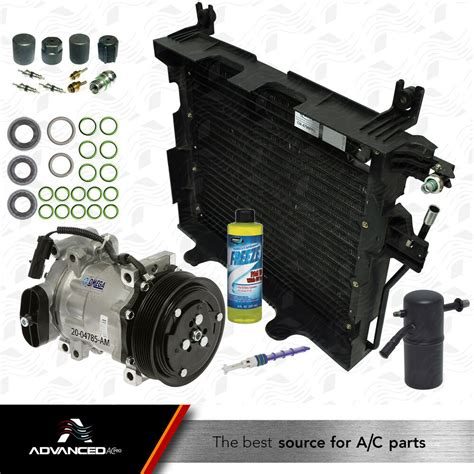 new ac a c compressor kit fits 1997 1998 1999 dodge dakota v6 3 9l v8 5 2l only ebay