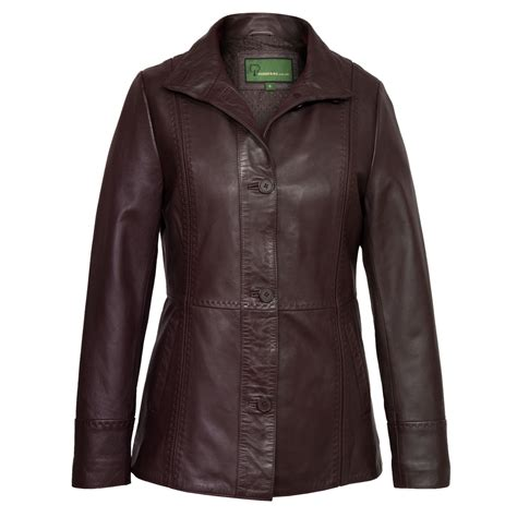 leather jackets maggie burgundy leather jacket hidepark