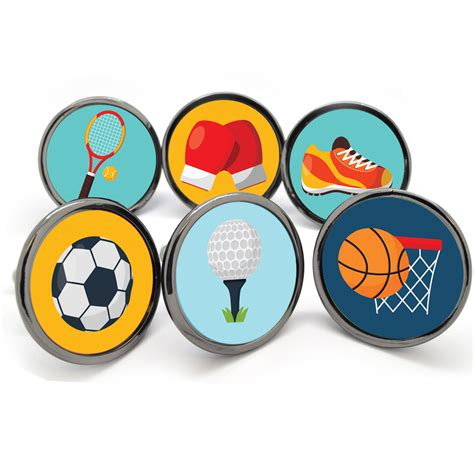 Sports Door Knobs by Unique Home Accessories Homeware And Decor Sports Themed