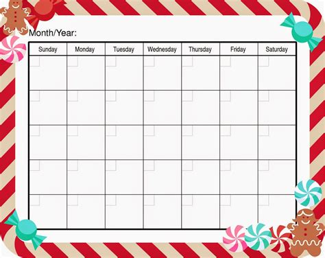 Printable Calendar Template Pdf by Free Printable Blank Calendar Template Pdf Word Calendar