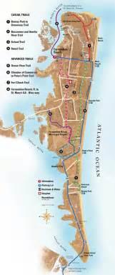 amelia island map of florida bike trails on amelia island bike scoot or yak