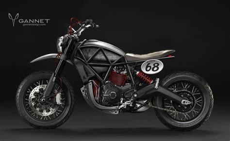 ducati motocross bike new ducati scrambler concepts flow in from gannet design