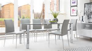 rectangular clear glass dining table chrome legs uk modern round glass top dining table small round dining