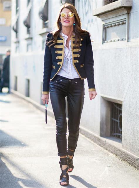 stylish ways to wear band jacket on the streets glam radar