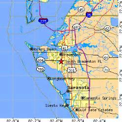 south bradenton florida fl population data races