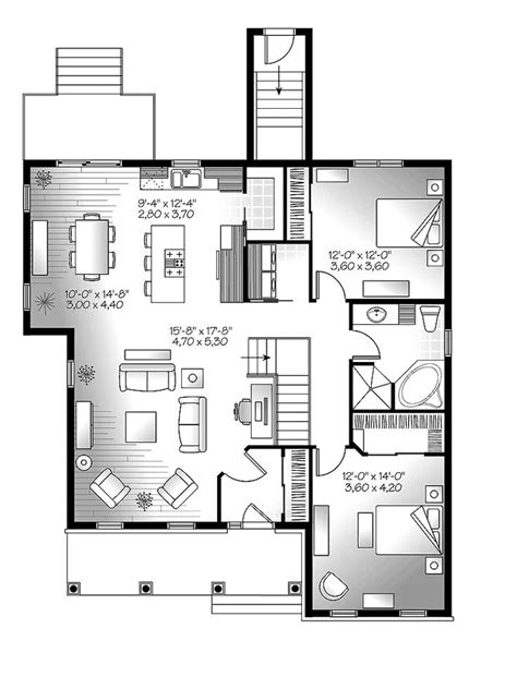 two story open concept floor plans 1000 ideas about one story houses on pinterest two