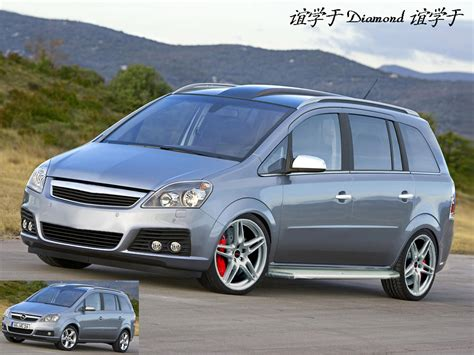 Opel Zafira by View Of Opel Zafira Photos Features And Tuning Of