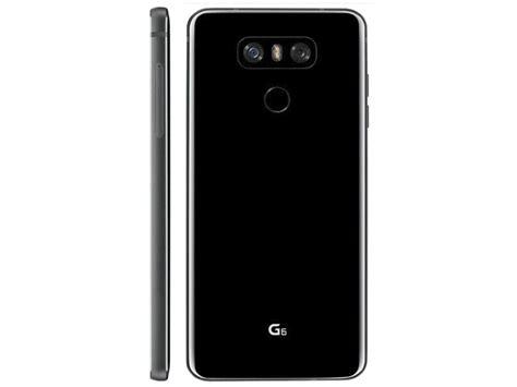 Lg G6 New Segel Black black lg g6 leaks out