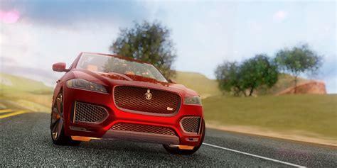 jaguar f pace inside gta san andreas jaguar f pace mod gtainside com