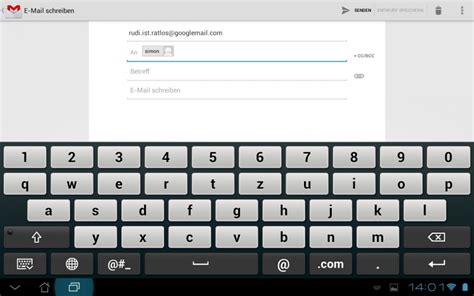 email keyboard layout design team proposals touchscreen on screen keyboard