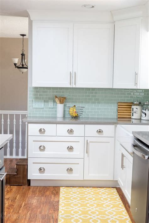 mint kitchens kitchen reveal love this kitchen everything this