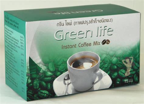 Coffee Mix instant coffee mix green origin thailand 15 slim