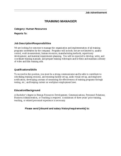Management Trainee Description by Manager Description Hashdoc