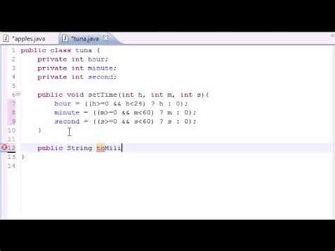 java tutorial time java programming tutorial 36 time class youtube