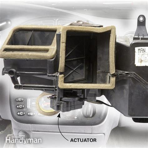 chevy cobalt floor duct car heater blowing cold air check the actuator the