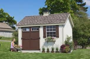 pinehurst colonial wooden outdoor garden shed kit 8 x 10