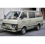 Nissan Vanette First Generation Front Kuala