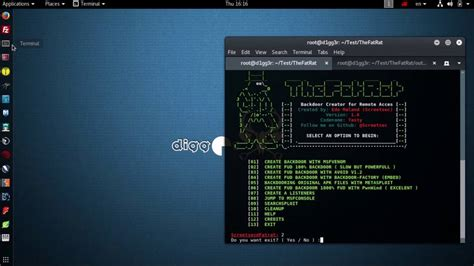 linux training materials downloads gbdirect linux kali linux tools thefatrat tool for generate backdoor