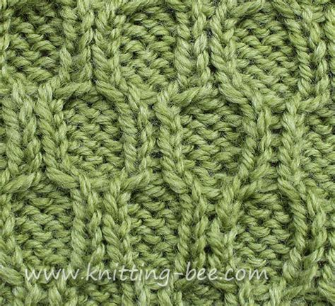 how to knit a cable stitch honeycomb trellis cable stitch knitting bee