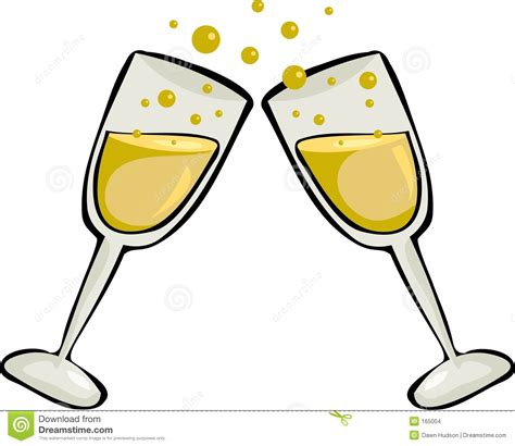 cartoon wine glass cheers glasses toasting clipart 58