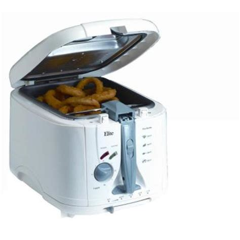 elite 5 qt cool touch fryer edf888xt the home depot
