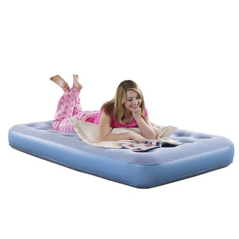 simmons beautysleep smart aire comfort top instant air bed