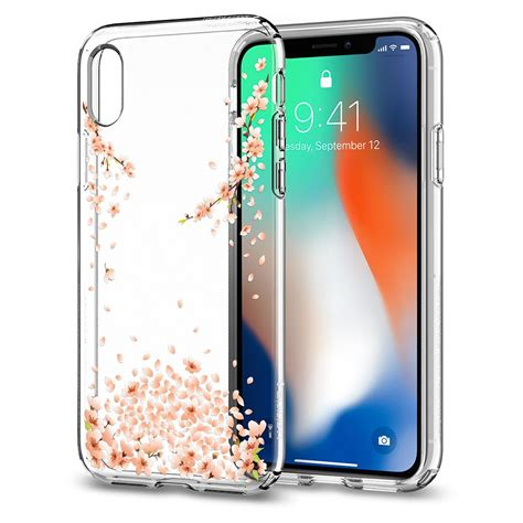 Spigen Liquid Iphone X Clear Original iphone x liquid blossom spigen inc
