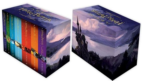harry potter paperback box harry potter box set the complete collection books 1 7 by j k rowling 9781408856772 ebay