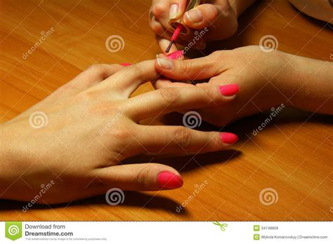 manicure royalty free stock images image 34748809