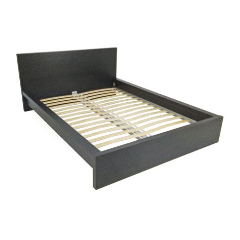 Ikea Bed Frame | 51 off ikea malm black bed frame beds