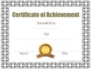 certificates of achievement templates free customizable certificate of achievement certificate of achievement template sample templates