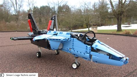Lego Technic 42066 Air Race Jet lego technic 42066 air race jet motorized can it fly