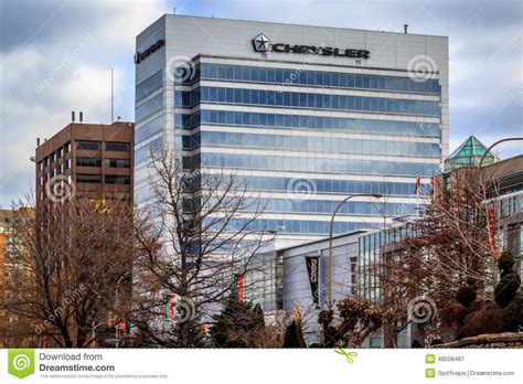 chrysler office canada chrysler canada headquarters editorial photography image