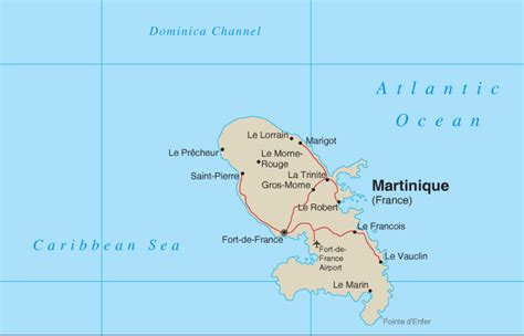 martinique map martiniqueibbean islands map pictures inspirational pictures
