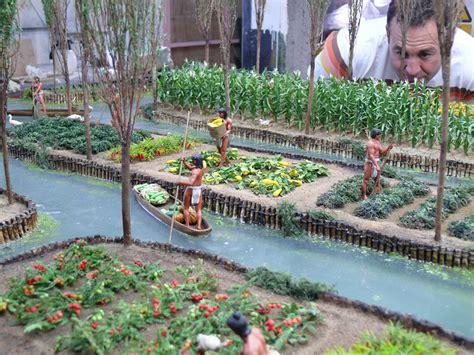 Aztec Floating Gardens by Aztec Floating Islandsas American Civilization