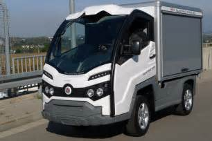 Electric Vehicles Vans Electric Delivery Xt