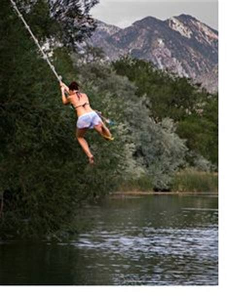 longest rope swing 1000 images about all things water rope swings on