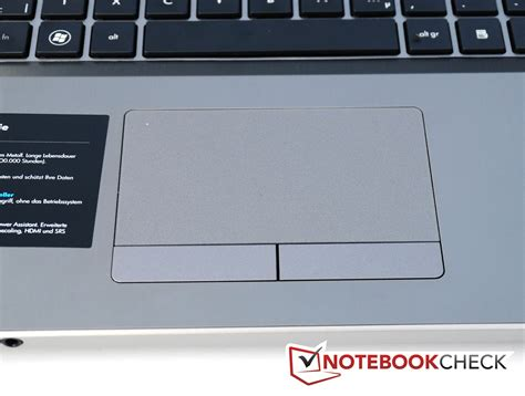 Touchpad Notebook review hp probook 4730s lh335ea lh343ea notebook