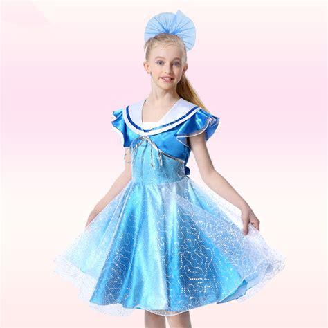Dress Petal Princess bridal designer pageant princess dress navy collar petal sleeve tippet dress
