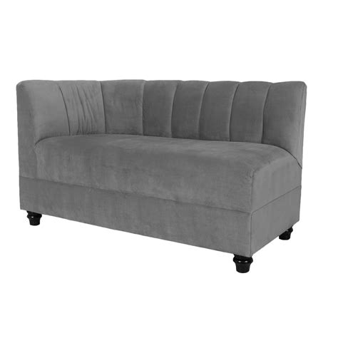 curved loveseat sofa curved sofa rentals event furniture rental formdecor