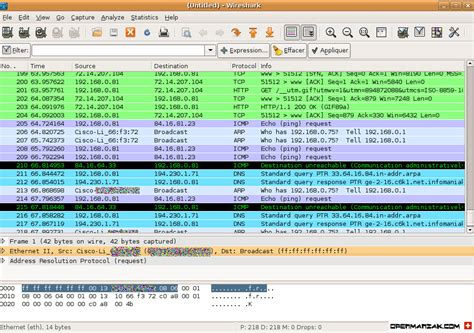 wireshark tutorial in linux wireshark ethereal capture options
