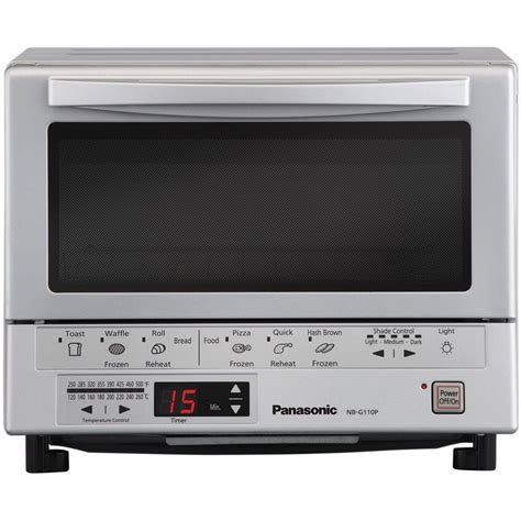 Cooks Illustrated Toaster Oven Panasonic Flashxpress Silver Toaster Oven Nb G110p The