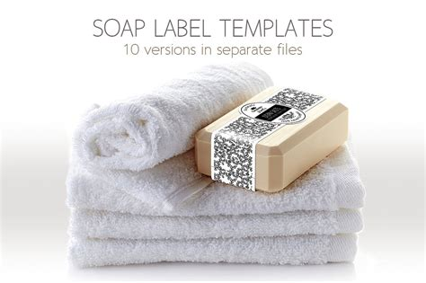 soap label template soap label packaging template templates creative market