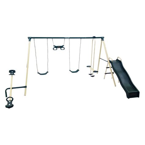 flexible flyer swing set accessories flexible flyer backyard fun swing set swing sets at
