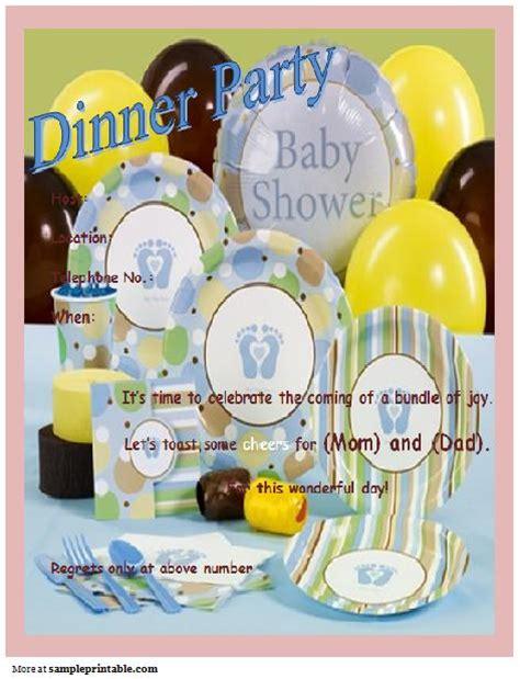 baby shower dinner dinner baby shower invitation printable dinner baby